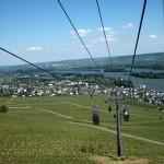 Rüdesheim - Gondel zum Niederwalddenkmal
