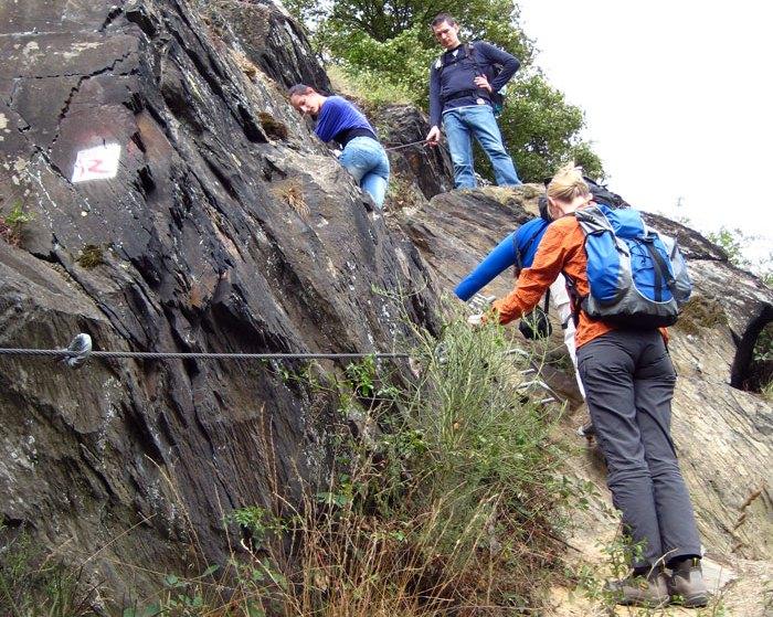Klettersteig Rheinsteig Boppard : Traumschleife klettersteig boppard tourismus